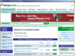 Web Nexus Promoting Orbitz's Away.com