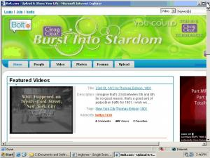 IE Plugin Promoting Bolt.com
