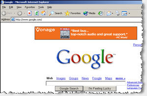 A Vonage Ad Injected by Fullcontext